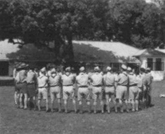 Myanmar Scouts Association - Image: Union of Burma Boy Scouts campout