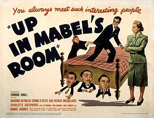 Up in Mabel's Room (1944 film) - Theatrical release poster