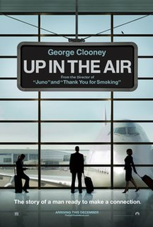 2009 comedy-drama film adaptation of the Kirn novel starring George Clooney directed by Jason Reitman