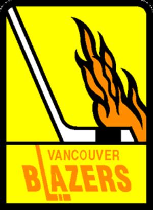 Vancouver Blazers - Image: Vancouver Blazers