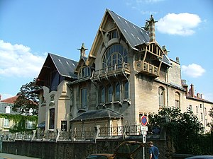 Louis Majorelle - The Villa Majorelle, located at 1, rue Louis Majorelle in Nancy, in July 2004.