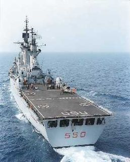 Italian cruiser <i>Vittorio Veneto</i> As Italy is a part of NATO this ship has also been use for several operation in Iraq.
