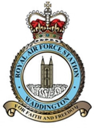 RAF Waddington - For Faith and Freedom