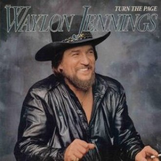 Turn the Page (album) - Image: Waylon Jennings Turn The Page