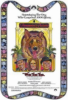 <i>Won Ton Ton, the Dog Who Saved Hollywood</i> 1976 American comedy film