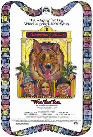 Won Ton Ton, the Dog Who Saved Hollywood - Theatrical release poster