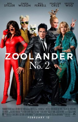 Zoolander 2 - Theatrical release poster