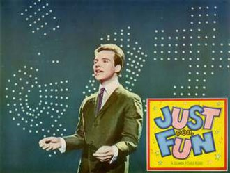 Just for Fun (film) - Original lobby card of Bobby Vee