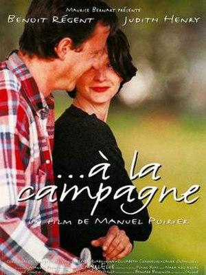 ...à la campagne - French Film Poster