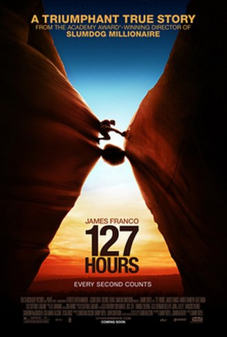127 Hours - Theatrical release poster