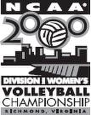 2000 NCAA Division I Women's Volleyball Tournament - 2000 NCAA Final Four logo