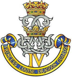 4th Princess Louise Dragoon Guards - Badge of the 4th Princess Louise Dragoon Guards