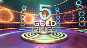 5 Gold Rings - Image: 5 Gold Rings logo