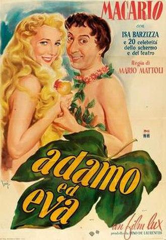 Adam and Eve (1949 film) - Film poster