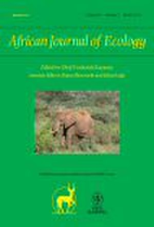 African Journal of Ecology - Image: African Journal of Ecology