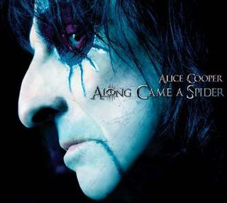 <i>Along Came a Spider</i> (album) 2008 studio album by Alice Cooper