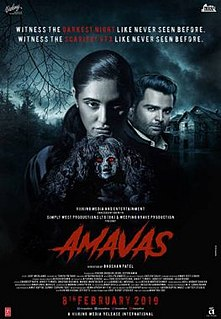 <i>Amavas</i> 2019 Bollywood horror film