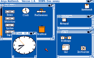 AmigaOS 4 - Amiga Workbench 1.0 (1985).