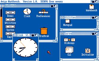 Intuition (Amiga) - Amiga Workbench 1.0 (1985)
