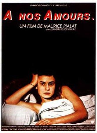À Nos Amours - Film poster