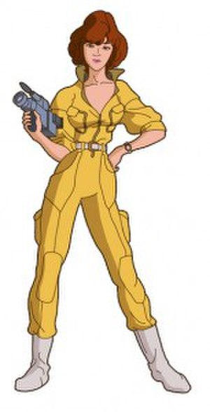 April O'Neil - April O'Neil, as depicted in the animated series Teenage Mutant Ninja Turtles (1987 - 1996) for the first seven seasons