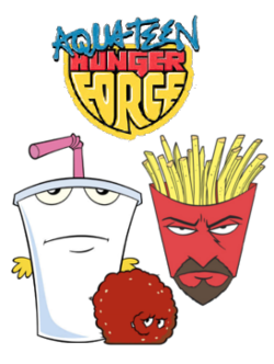 Aqua Teen Hunger Force main characters.png