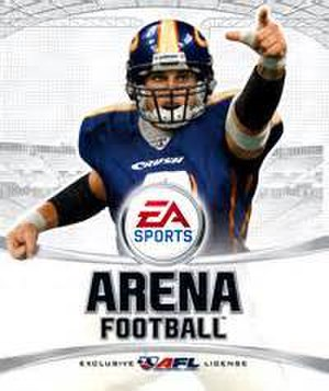 Arena Football (2006 video game) - Image: Arena Football Cover