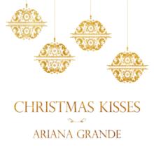 ariana grande christmas kissespng