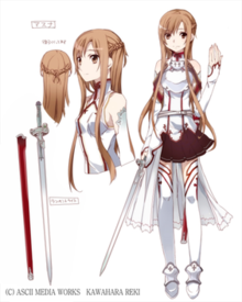 Asuna (Sword Art Online) - Wikipedia
