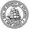 Official seal of Atlantic County