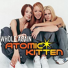 Atomic Kitten — Whole Again (studio acapella)