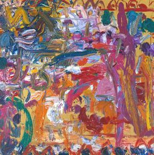 Gillian Ayres - Antony and Cleopatra, 1982, Tate Gallery