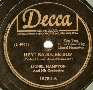 Hey! Ba-Ba-Re-Bop - Image: Ba ba re bop