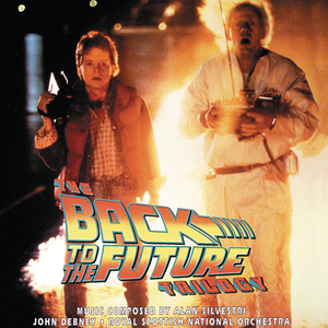The Back to the Future Trilogy (soundtrack) - Image: Back to the Future Trilogy Cover