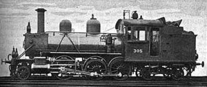 2-6-4 - Class Vk1 2-6-4T no. 305 of the Finnish State Railways