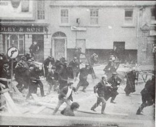 1969 Northern Ireland riots Series of political and sectarian riots, August 1969