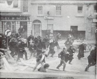 1969 Northern Ireland riots - Police riot in Bogside district in Derry