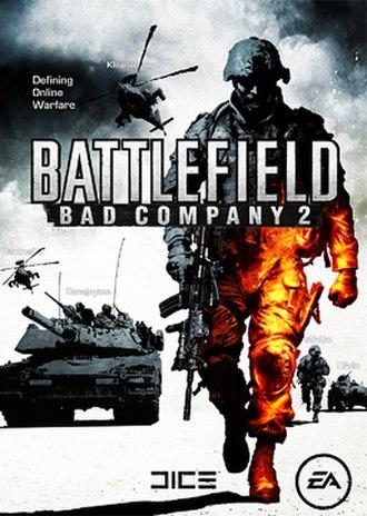 Battlefield: Bad Company 2 - Image: Battlefield Bad Company 2 cover