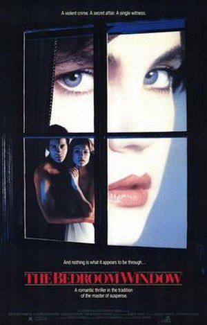 The Bedroom Window (1987 film) - Theatrical release poster