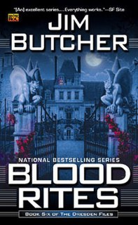 <i>Blood Rites (The Dresden Files)</i> book by Jim Butcher