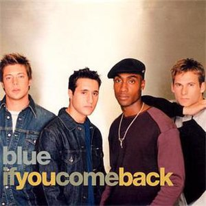 If You Come Back - Image: Blue If You Come Back