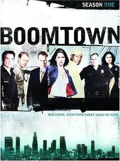 <i>Boomtown</i> (2002 TV series)