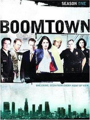 Boomtown (2002 TV series) - Season 1 DVD cover