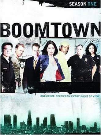 Boomtown (2002 TV series) - Season 1 DVD cover