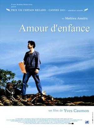 Boyhood Loves - A poster bearing the film's French title:Amour d'enfance