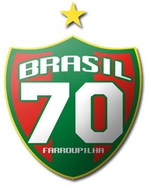 Sociedade Esportiva Recreativa e Cultural Brasil - Image: Brasil de Farroupilha logo