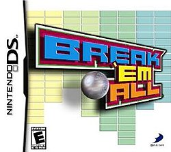 Break 'Em All (North America) Brick 'Em All DS (Europe) Simple DS Series Vol. 4: The Block Kuzushi (