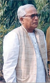 photo of Buddhadeb Bhattacharya
