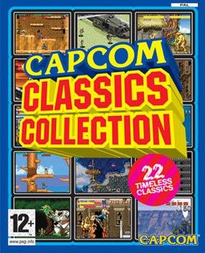 Capcom Classics Collection - Image: Capcom Classics Collection