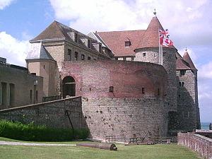 Château de Dieppe - Image: Château musée de Dieppe